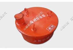 圆形干式电磁除铁器